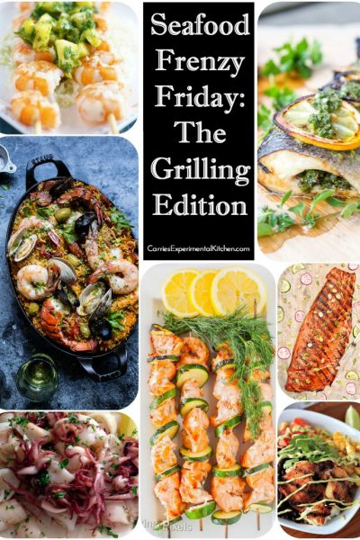 Seafood Frenzy Friday: The Grilling Edition | CarriesExperimentalKitchen.com Ten of the best grilled seafood recipes on the web.
