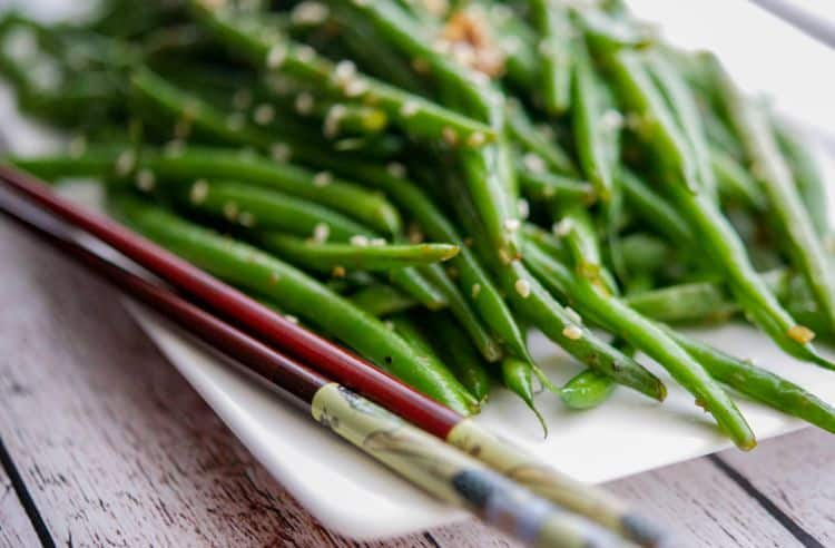 Sesame.Ginger Sauteed Haricot Verts 3