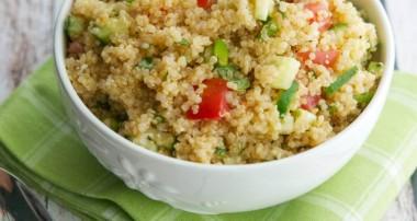 Tomato & Cucumber Quinoa Salad
