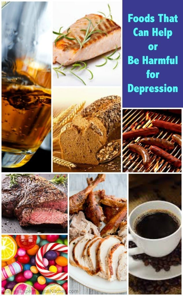 Foods That Can Help or Be Harmful for Depression | CarriesExperimentalKitchen.com National Suicide Prevention Week September 5-11, 2015
