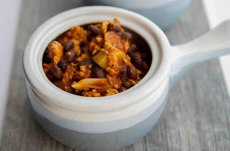 Italian Ground Turkey & Black Bean Stew 2