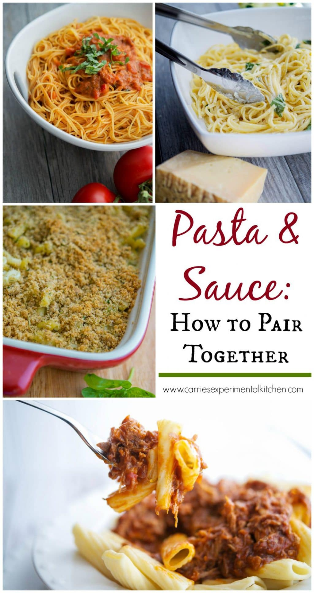 Did you know that there are over 350 types of shaped pasta? Find out which pasta sauce goes best with your favorite pasta. #pasta #pastasauce #sauce