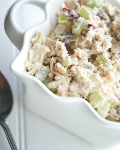 Cranberry Pecan Turkey Salad