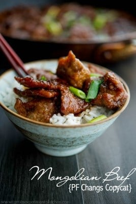 Mongolian Beef {PF Changs Copycat} | www.carriesexperimentalkitchen.com