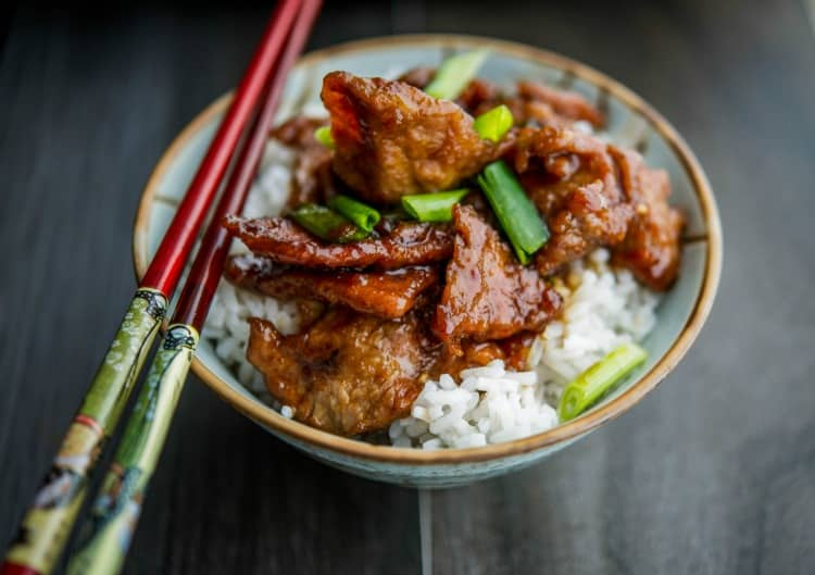Mongolian Beef {PF Changs Copycat}