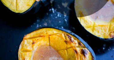 Amaretto Roasted Acorn Squash