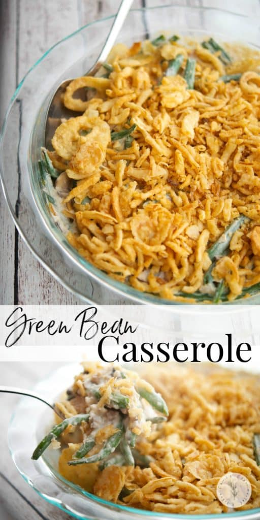 Make one of the classic holiday side dishes using fresh green beans, mushrooms and fat free half and half with this Semi-Homemade Green Bean Casserole.