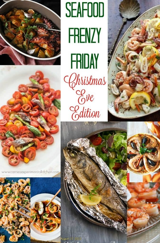 Seafood Frenzy Friday Christmas Eve Edition