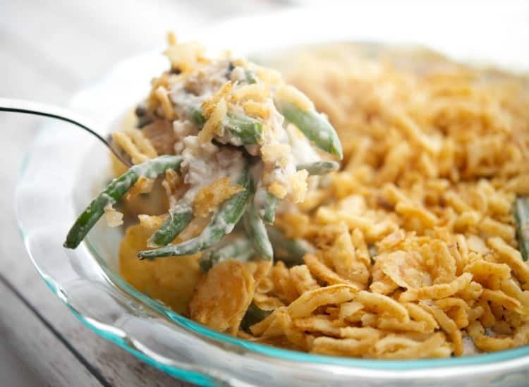 Semi-Homemade Green Bean Casserole