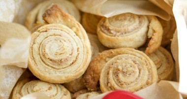 Cinnamon Walnut Pinwheel Cookies