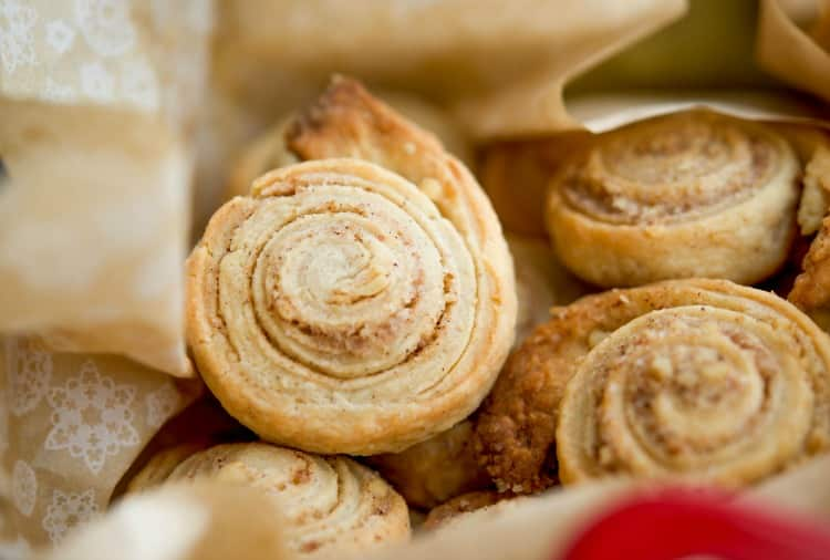 Cinnamon Walnut Pinwheel Cookies