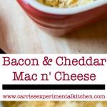 Bacon Cheddar Mac n' Cheese