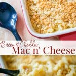 Rich and creamy, this Bacon & Cheddar Mac n' Cheese is the perfect savory weeknight meal. Trust me, it will not disappoint.