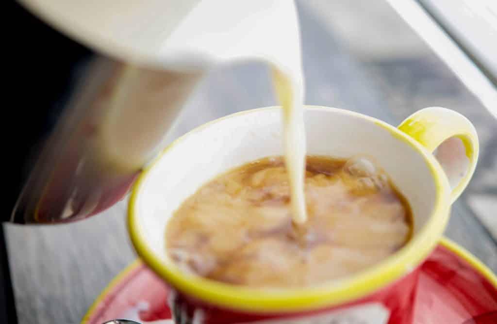 Low Fat Vanilla Coffee Creamer