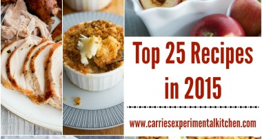 Top 25 Recipes in 2015