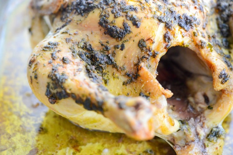 Chimichurri Whole Roasted Chicken