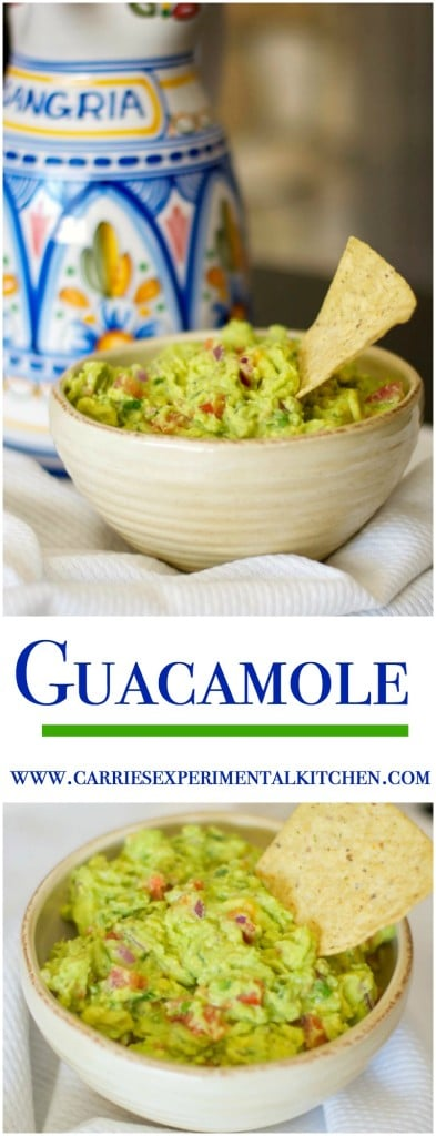 Snacking doesn't have to be unhealthy. Homemade guacamole tastes great and is rich in healthy fats that helps to satisfy your cravings.