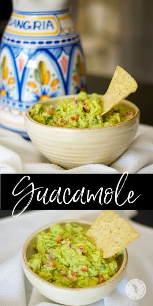 Homemade Guacamole made with fresh avocados tastes great and is rich in healthy fats that helps to satisfy your cravings.