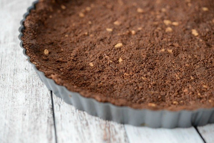 No Bake Peanut Butter Tart Crust