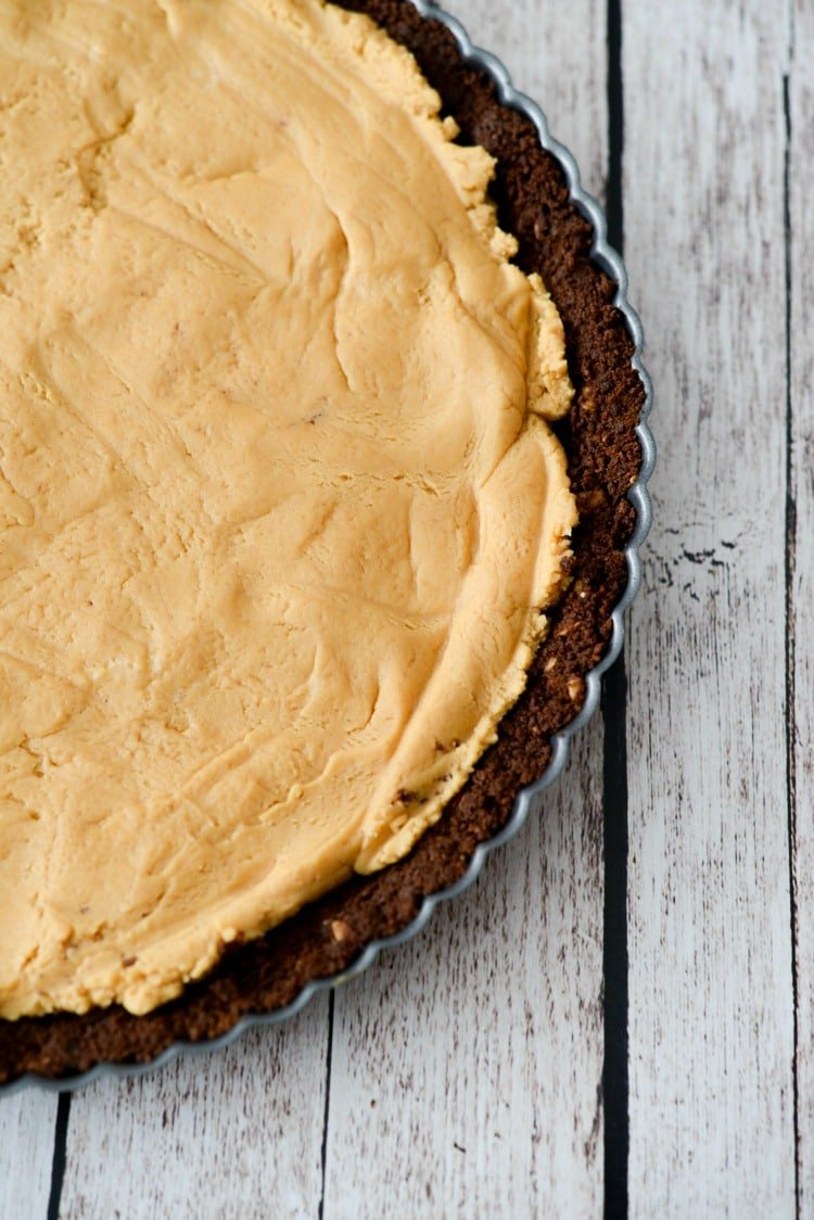 No Bake Peanut Butter Tart filling