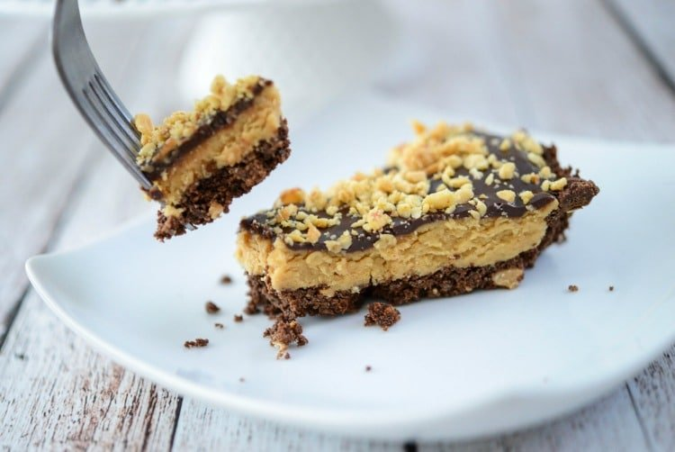 No Bake Peanut Butter Tart