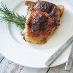 Balsamic Honey Mustard Baked Chicken
