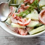 Ranch Tomato Cucumber Salad