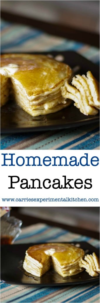 Never make pancakes from a box mix for breakfast again when Homemade Pancakes taste so much better. Add your favorite toppings or mix them in the batter.