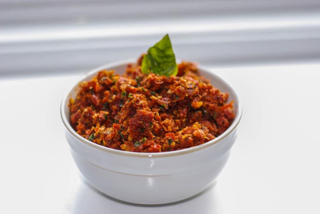 Sun Dried Tomato & Asiago Cheese Pesto