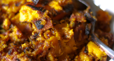 Sweet Potatoes & Chorizo