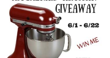 KitchenAid Artisan 5-Qt. Stand Mixer #SummerDream Giveaway