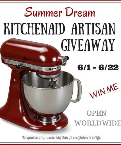 KitchenAid Artisan 5-Qt. Stand Mixer Giveaway #SummerDream