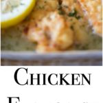 Chicken Francaise; which is tender chicken in a light, lemony sauce, is the perfect meal to feed a crowd. Make extra sauce, it's that good!