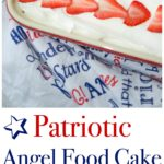 If baking is not your thing, but you still want to celebrate the holidays, try this easy Patriotic Angel Food Cake Dessert.