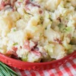 Red Potato Salad with Sriracha Vinaigrette