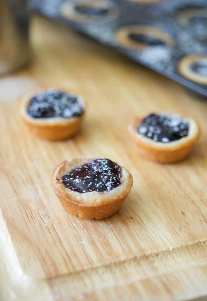 Blueberry Pie Tassies