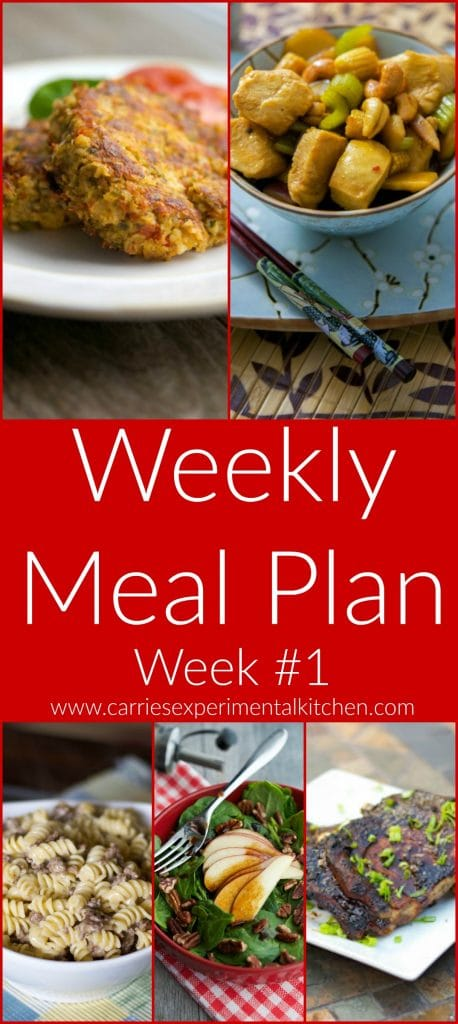 Getting dinner on the table just got that much easier with my Weekly Meal Plan geared towards creating family friendly meals that are easy to make at home with simple ingredients and directions.