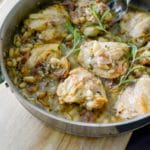 Chicken with Prosciutto, Rosemary & White Beans