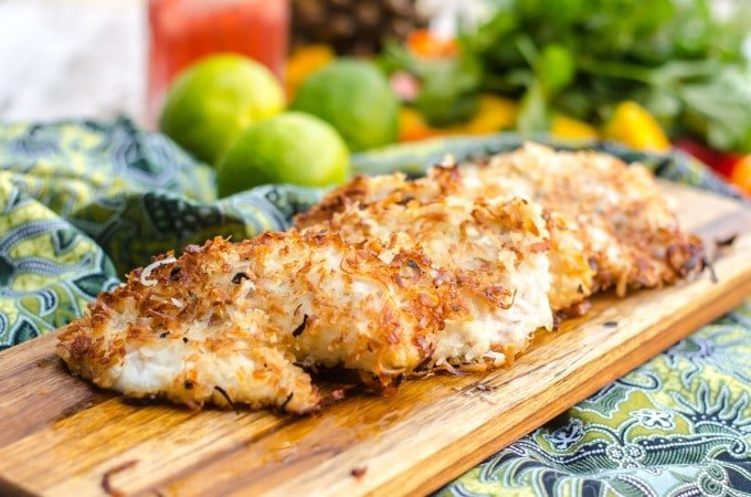 Coconut Fried Fish (Go Go Gourmet)