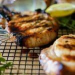 Greek Honey Lemon Grilled Pork Chops