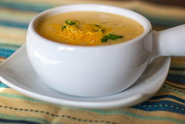 Low Fat Baked Potato Soup