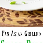 Pan Asian Grilled Short Ribs: Distinct flavors from Vietnam, Japan and China combine in this Pan Asian marinade made from Asian pears, oyster sauce, lemongrass and shallots.