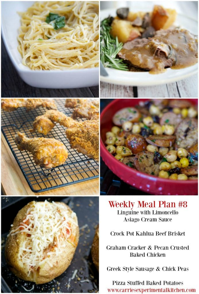 weekly meal plan 8 carrie s experimental kitchen