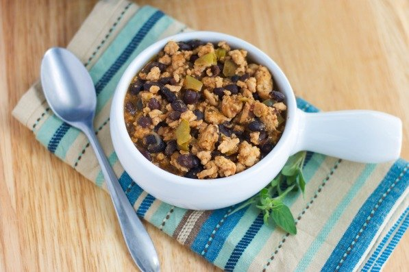 Black Bean and Turkey Chili