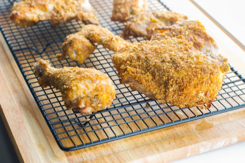 Graham Cracker & Pecan Crusted Baked Chicken