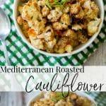 Cauliflower roasted with fresh Mediterranean flavors like Greek yogurt, Kalamata olives, fresh lemon and oregano. It's the perfect side dish to any meal.