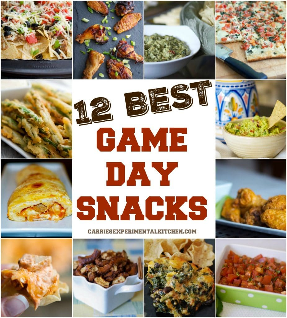 12 Best Game Day Snacks eBook