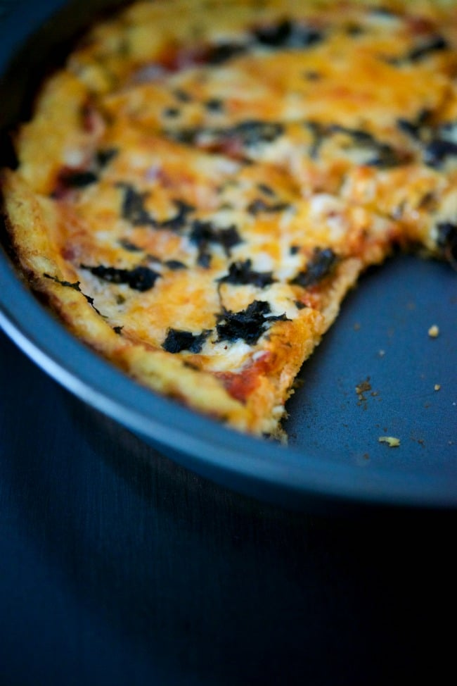 Cauliflower Crust Pizza | CarriesExperimentalKitchen.com
