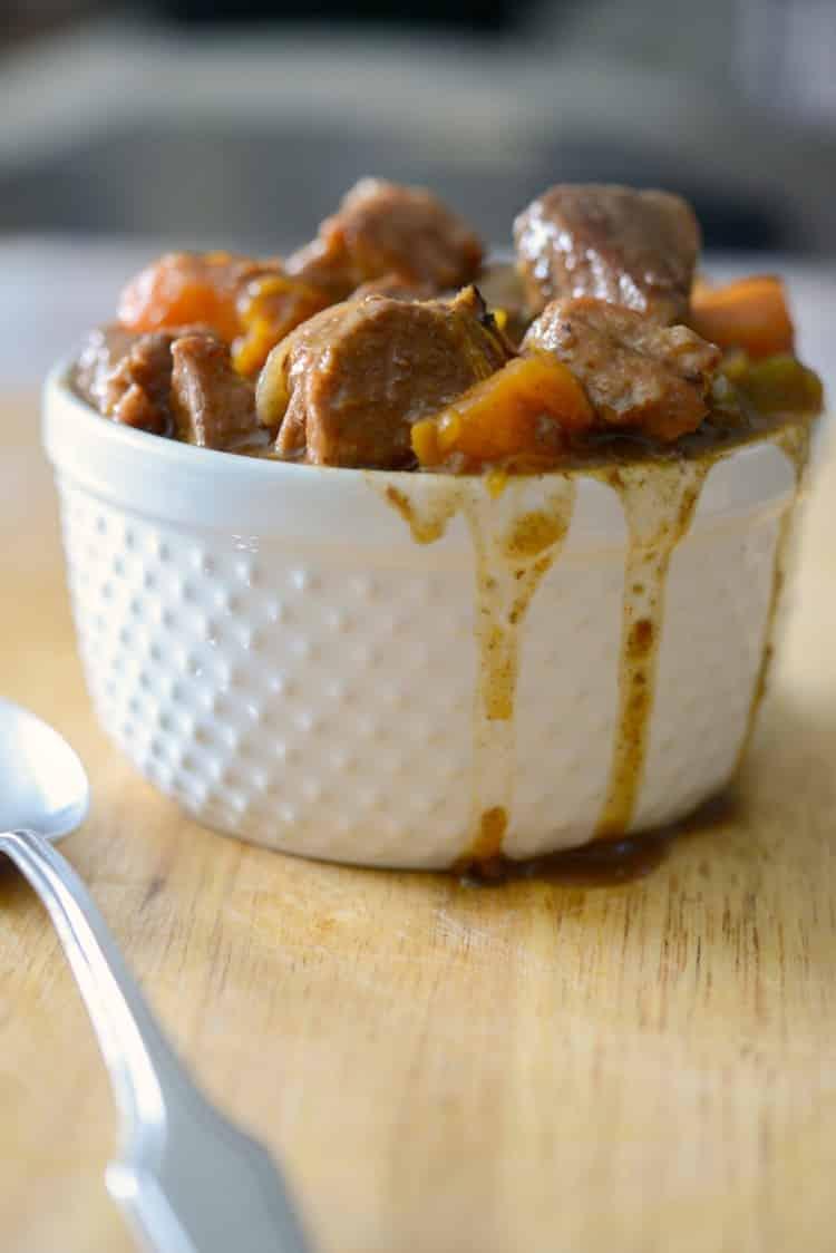Crock Pot Hungarian Pork Stew - Carrie's Experimental Kitchen