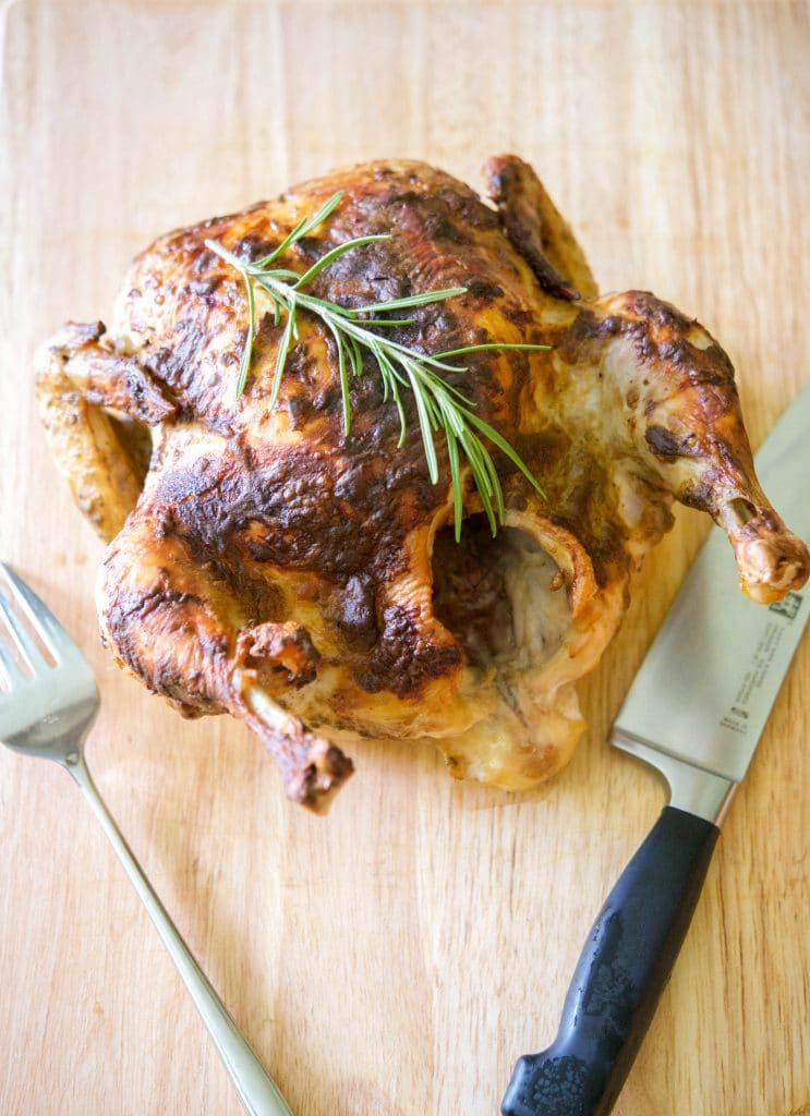 Dijon Balsamic Roasted Chicken